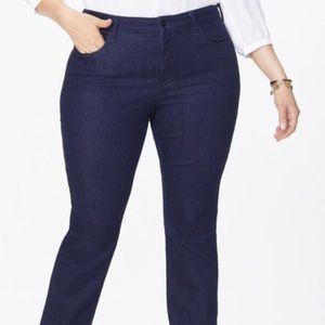 NYDJ -straight leg jeans